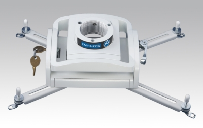 Da-Lite's New Universal Projector Mount Design Offers Easy Installation and Adjustment