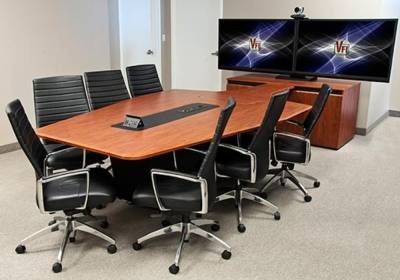 Dial into our boardroom to see VFI's table (T4000) in action