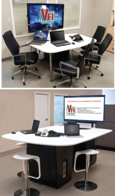 VFI COLLABORATION TABLES on a budget