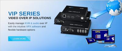 PureLink Introduces 3 New Video over IP Options - Additional Hardware Complements Control Software for Simple & Comprehensive IP Video Solution