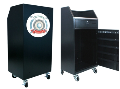 New Portable Valet Podium from AmpliVox Enhances Curb Appeal and Security
