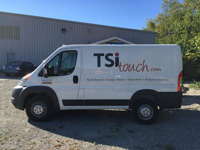 They See Me Rollin' and Supportin': The TSItouch Van