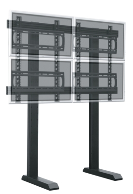 VisionFrame™ Video Monitor Wall System Offers Exceptional Support