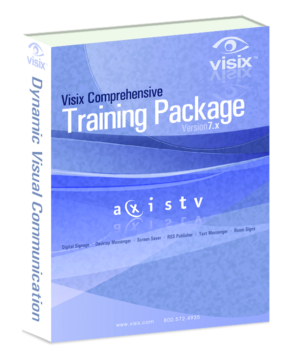 Visix Introduces Comprehensive AxisTV Training Package