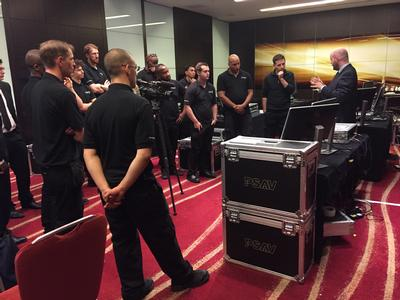 Analog Way's LiveCore™ and Midra™ Classes are a Hit in the United Kingdom