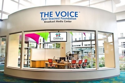 THE VOICE brightens daily life for hospitalized children — with help from Electro-Voice
