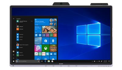 Sharp Brings the World's First Certified Windows Collaboration Display to Market
