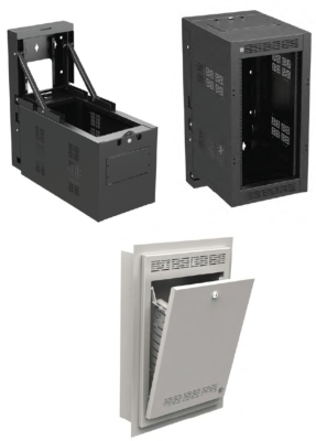 Atlas Sound New Half Rack Cabinet Solutions