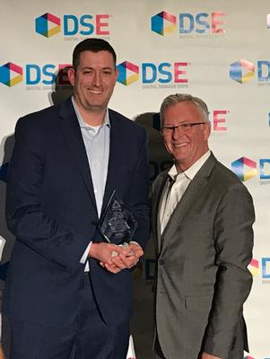 Visix Wins Bronze APEX Award for Campus Digital Signage at DSE 2018
