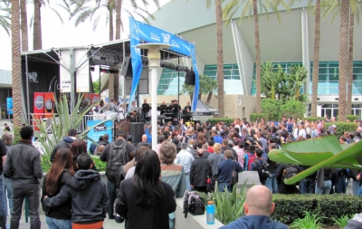 "ASHLY KLR-4000 AMPS POWER COMMUNITY LOUDSPEAKERS AT NAMM'S POPULAR ""WANNA PLAY?"" STAGE"