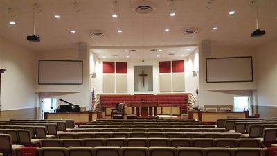 Community IV6 Arrays Provide Quality Voice and Music for West Jacksonville Baptist Church