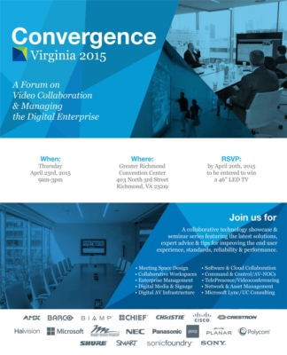 Will you be there? The Whitlock Convergence Collaborative Tech Summit- April 23rd