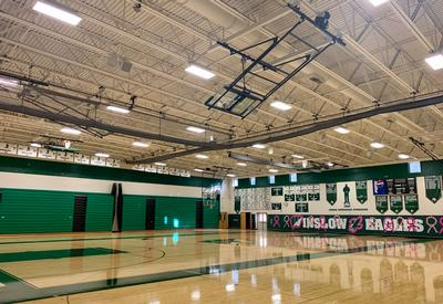 Winslow Township High School Gym and Stadium Upgrade with Biamp's Community Loudspeakers