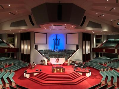 MC2Solutions Provides Outstanding Sound Quality for  Memphis Church with Community IV6
