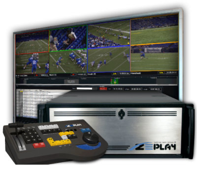 Introducing ZEPLAY, an 8 Channel Instant Replay Platform from Tightrope Media Systems