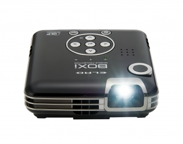 ELMO USA Introduces BOXi-T350, Portable HD Video Projector TV, Movies, Video Games