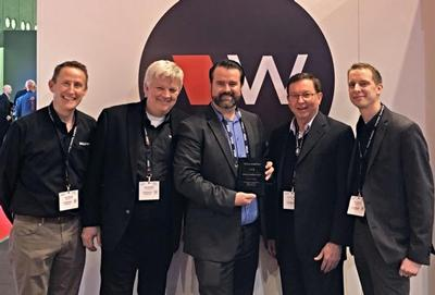 Williams AV Presents Hills with 2018 Top International Distributor Award