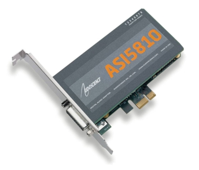 HALF-HEIGHT ASI5810 AND ASI5811 192KHZ AUDIO ADAPTERS OFFER MIC PREAMP AND GPIO