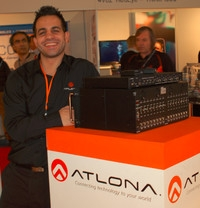 Atlona's HDBaseT and Wireless Products at ISE 2012