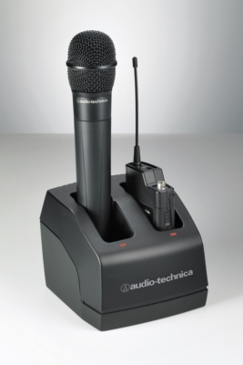 AUDIO-TECHNICA OFFERS THE ATW-CHG2 TWO-BAY RECHARGING STATION FOR NEWLY DESIGNED 2000 SERIES WIRELESS