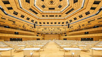 Meyer Sound's Largest Permanent Installation of New ULTRA-X40 at Austria Center Vienna