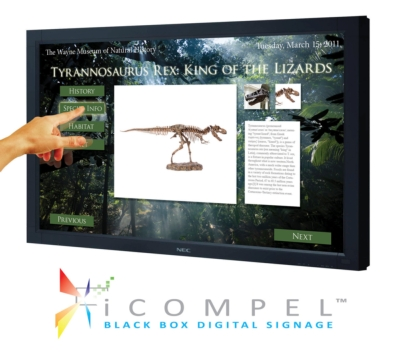 Black Box to demonstrate its latest iCOMPEL™ versions for interactive digital signage at CETW