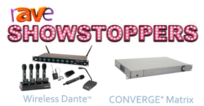 rAVe selects two ClearOne SHOWSTOPPERS at ISE 2015- Not to be missed!