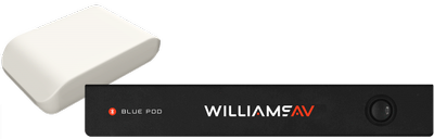 New from Williams AV...BluePOD Bluetooth Audio Conferencing Systems