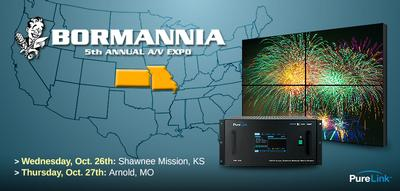 PureLink to Exhibit at Bormannia Central 2016 Events - Manufacturer to Showcase Products at 5th Annual A/V Expos Taking Place Next Week
