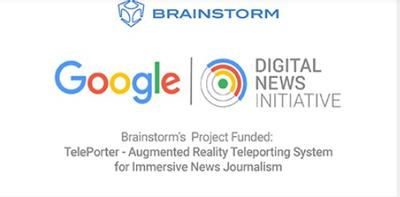 Brainstorm selected for the Google Digital News Initiative