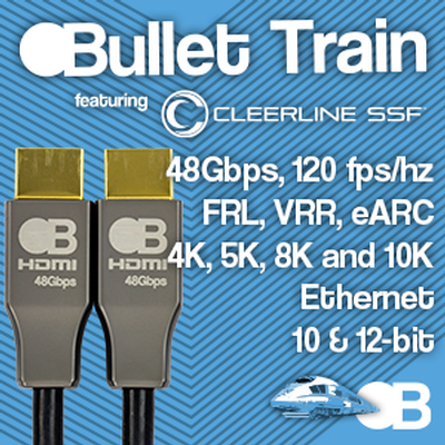 BULLET TRAIN 48GBPS AOC CABLES