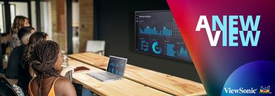 ViewSonic Launches New Line of Premium Wireless Presentation Displays with Native 4K UHD Resolution, Built-in Content and Screen Sharing Software