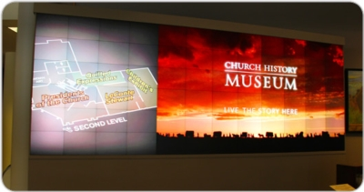 Christie MicroTiles Draw Visitors to Church History Museum