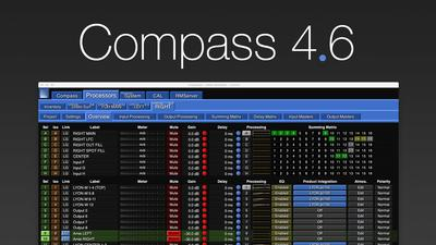 Meyer Sound Compass 4.6 Software Offers Milan Integration and Streamlined System Configuration