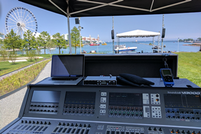 OSA Overcomes RF Challenges at Chicago's Navy Pier with Shure ULX-D® Wireless