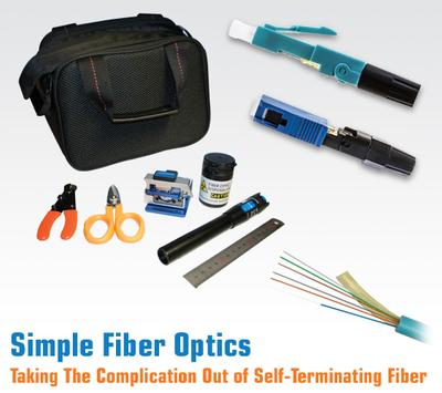 Taking the Complication Out of Self-Terminating Fiber Optics