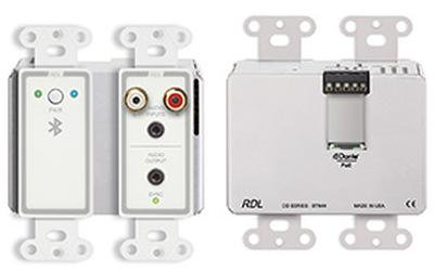 RDL Wall-Mounted Bluetooth® Audio Dante® Interface Now Shipping