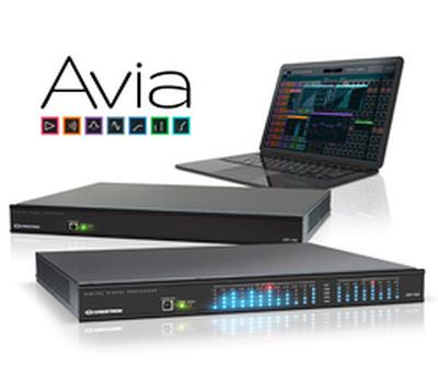 Crestron Now Shipping Full Line of Groundbreaking Avia™ DSPs