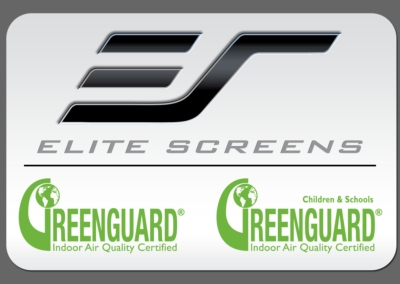 Elite Screens Projection Materials Receive GREENGUARD Certification