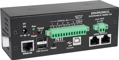 <B>NTI Introduces the ENVIROMUX® Mini Server Environment Monitoring System with Advanced Sensor Support</B>