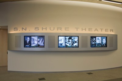 New State-of-the-Art S.N. Shure Theater Opens