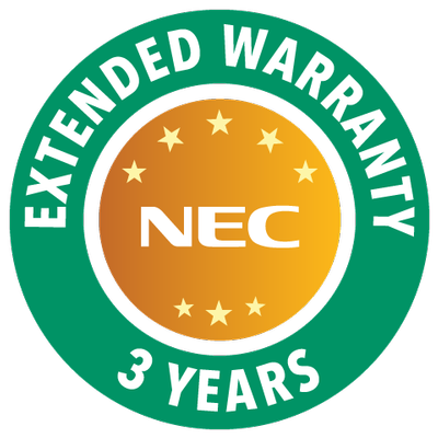 NEC DISPLAY SOLUTIONS NOW OFFERS A 3-YEAR WARRANTY ON ALL LAMP-BASED PROJECTORS