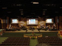 Spectrum Sound Chooses Vaddio WallVIEW CCU H700 Systems for  High Definition Church Application
