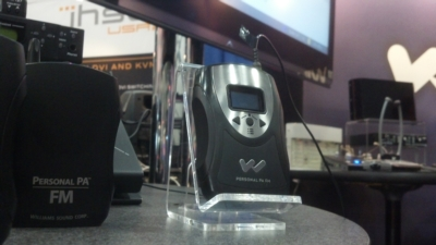 Williams Sound unveils new FM transmitter at GovComm 2012