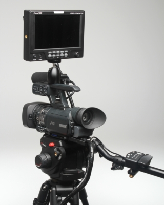 JVC Introduces Compact Studio System for its GY-HM150 Camcorder