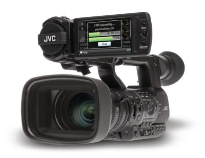 JVC GY-HM650 2.0 UPGRADED PROHD HANDHELD NEWS CAMERA DELIVERS LIVE HD TRANSMISSION
