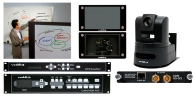 Vaddio Presents Latest PTZ Camera Control Technology at IBC 2010