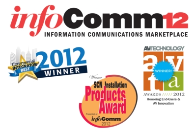 Vaddio EasyUSB Tools Awarded by Top AV Pubs at InfoComm 2012