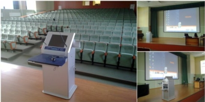 Russian Hospital Gets a Technological Face-Lift with TechPod Interactive Lectern