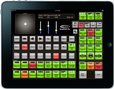 New iPixPanel Turns Apple iPad into Control Panel for Broadcast Pix Systems